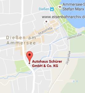 Adresse Autohaus Schürer