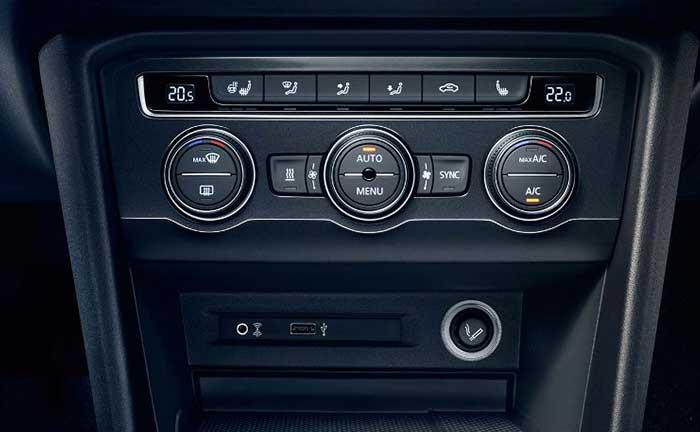 VW Tiguan 2016 Klimaautomatik