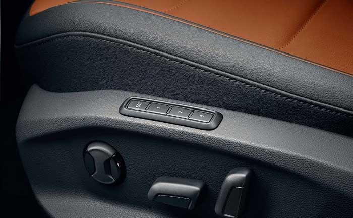 VW Tiguan 2016 Elektrisch verstellbare Sitze