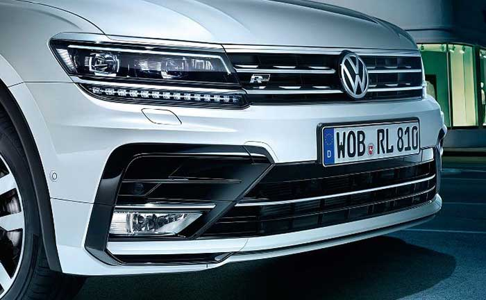 VW Tiguan LED-Scheinwerfer