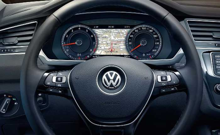 VW Tiguan Active-Info-Display
